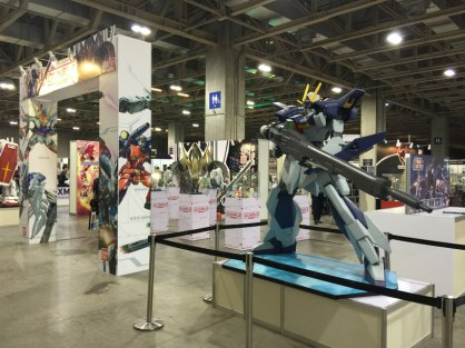 Gunpla section's gatekeeper (RX 78-2 on the other side)