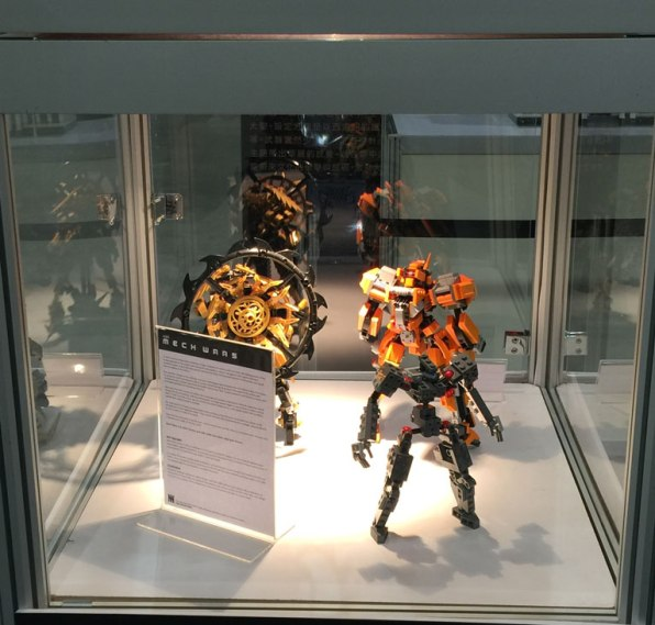The Mech Wars overview and sample reFrame so visitors could see the base model the mechs were built upon.